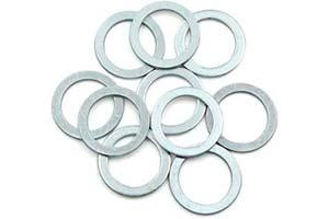 Arandelas de aluminio