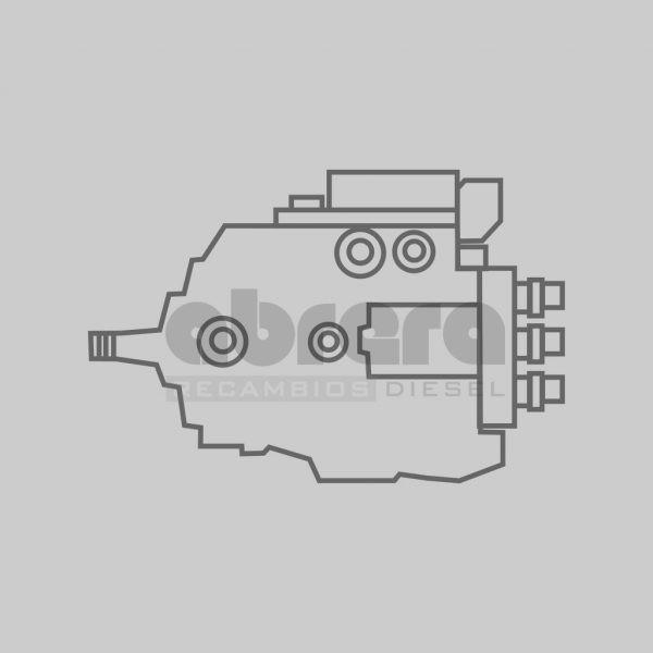 Bomba de inyección Bosch Reconstruida 0445010006